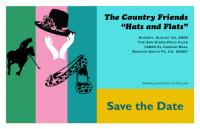 Hats & Flats